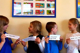 Kids-based Foreign Language
