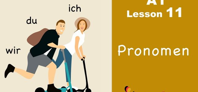 German Personal Pronouns: How to use them?